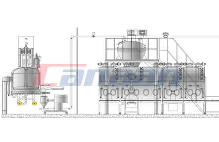 Solvent Crystallization Refining Drying Package System