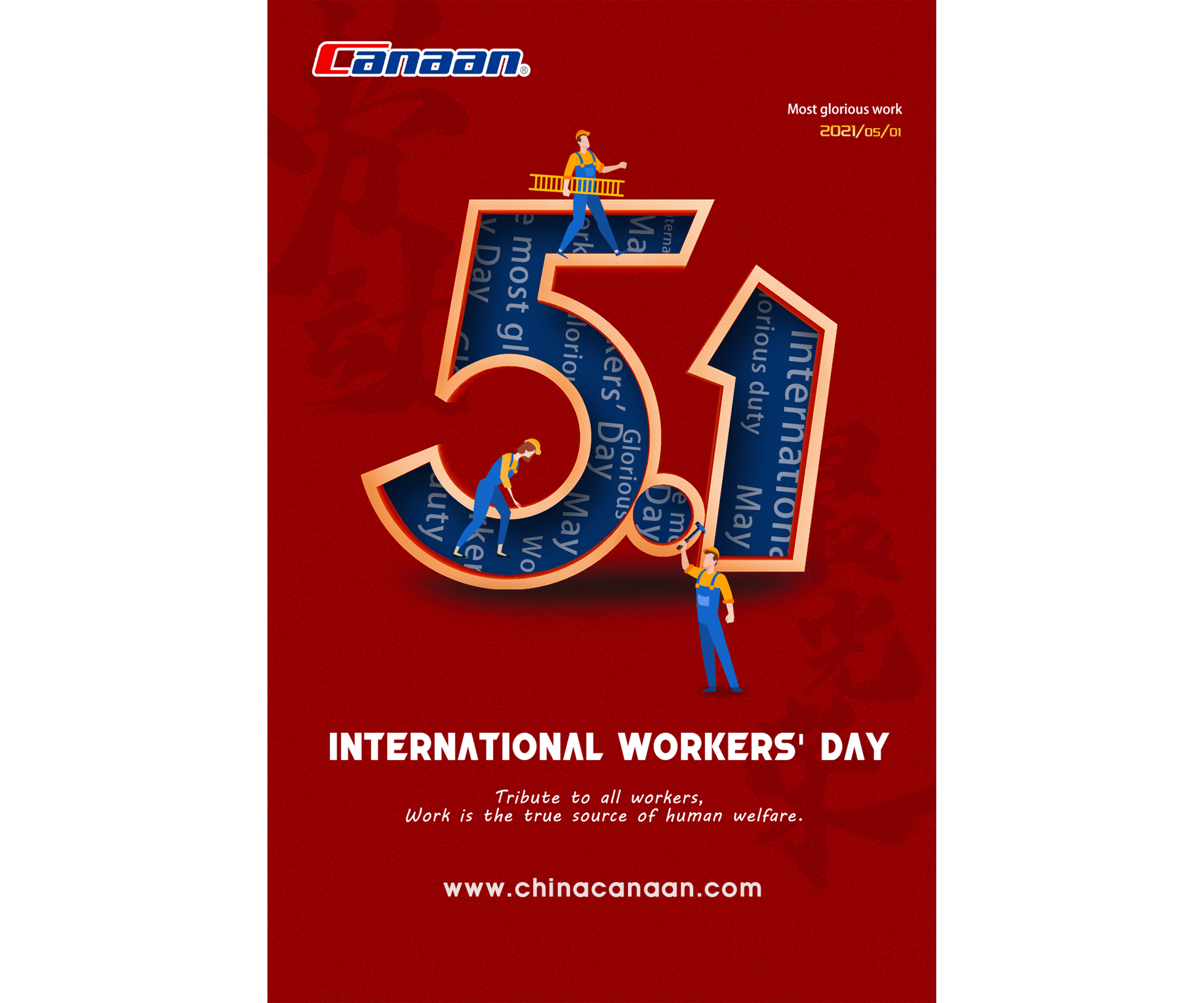 Happy International Worker's Day!