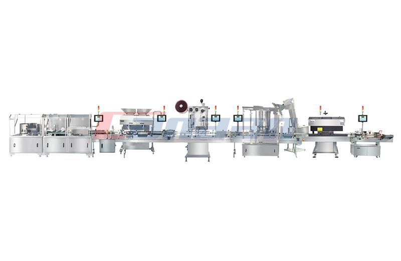 BS200 Series Round square bottle labeling machine