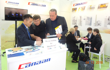 Canaan Exhibited at PHARMINTECH 2016 in Bologna, Italy