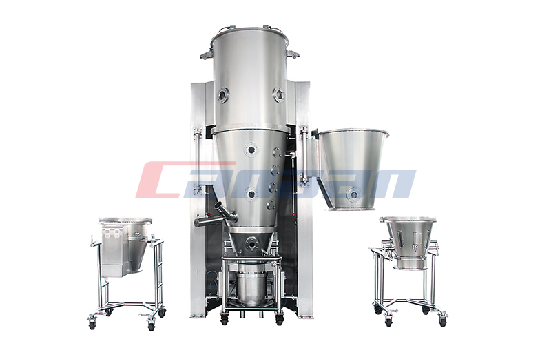 The Working Principle of The Fluid Bed Dryer