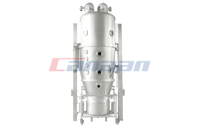 Material Drying Principle of High Efficiency Fluid Bed Dryer