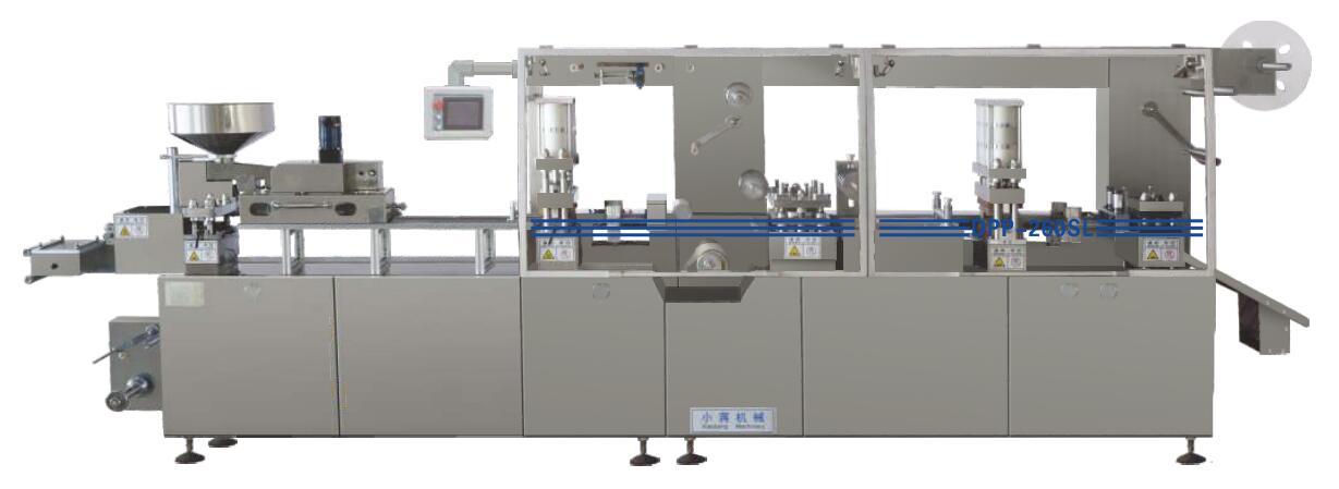 Flat plate AL-plastic-AL packing machine