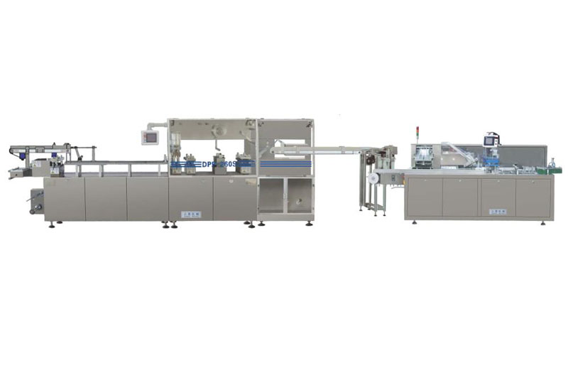 Full automatic kindle packing linkage production line