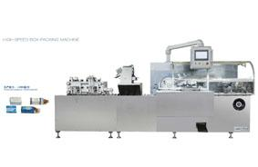 High speed box-packing machine