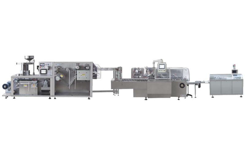 Roller plate high-speed AL-plastic-AL packing line