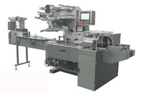 Three servo speed recprocating pillow packing machine