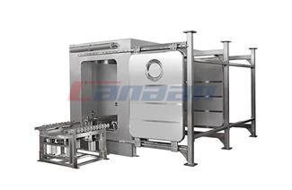 The Principle of QD Series Bin Washing Station